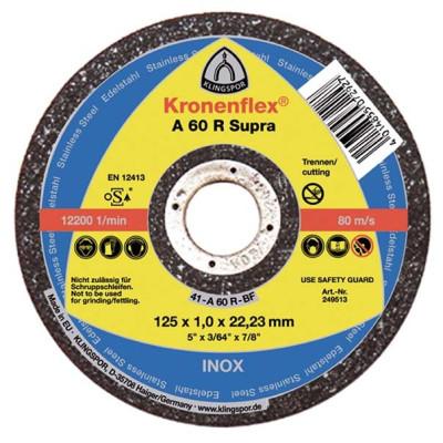 Rezný kotúč Klingspor A 60 R Supra 125x1x22,23 mm