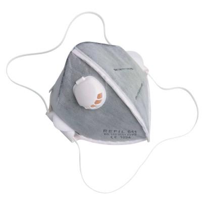 Respirátor Refil 641, P2, skladací s ventilom, balenie (15ks)
