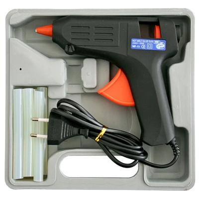 Elektrická lepiaca pištoľ, VC150022, 40W + kufrík