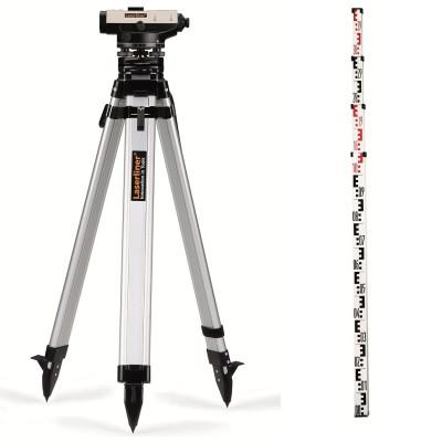 Optický nivelačný prístroj s 22 - násobným zväčšením a statívom