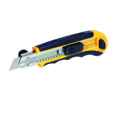 Odlamovací nôž s automatickým podávačom a aretačným kolieskom