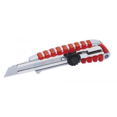 Odlamovací nôž celokovový s aretačným kolieskom