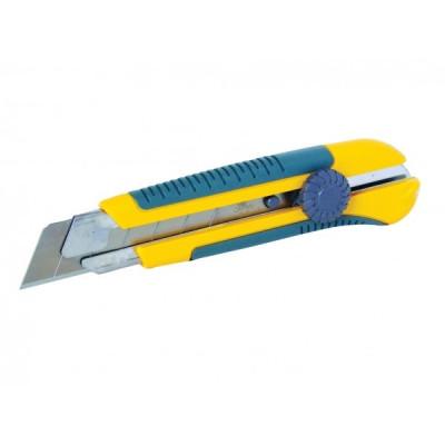 Odlamovací nôž s aretačným kolieskom profi široký