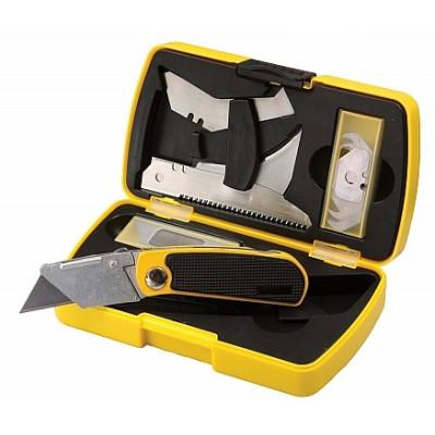 Sada odlamovacích nožov v kufríku