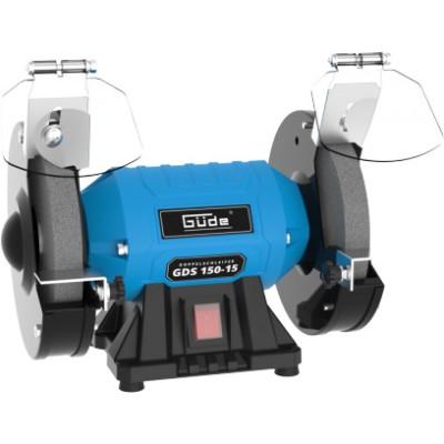 Dvojkotúčová stolová brúska Güde GDS 150-15