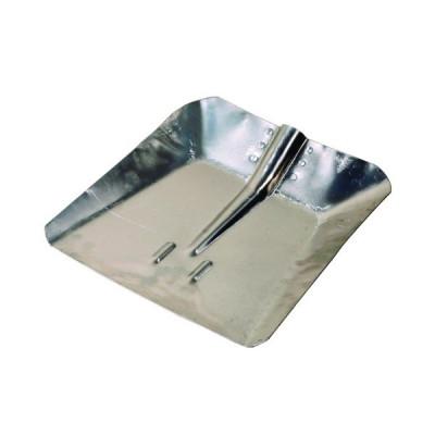 Lopata hliníková, malá, 260 x 290mm, bez násady, Levior