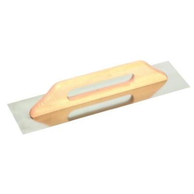 Hladidlo nerezové Extra, rovné, drevená rukoväť, Festa
