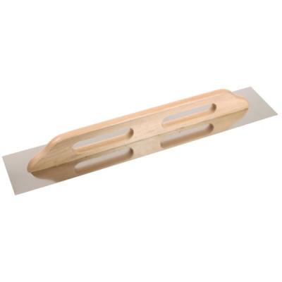 Hladidlo nerezové Extra, rovné, drevená rukoväť, 680x130mm, Festa