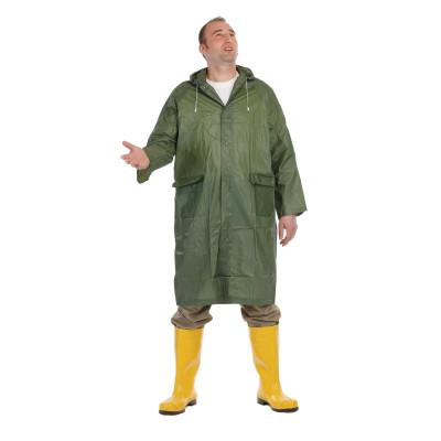 Ochranný plášť so sťahovacou kapucňou, Irwell, nepremokavý, zelený