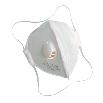 Respirátor Refil 731, P2, skladací s ventilom